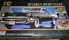 MONOGRAM 1957 CHEVY SPORT COUPE 3n1 1/12 Model Car Mountain FS
