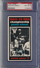 Wilt Chamberlain PSA 8 1970 Topps #173 Playoff Game 6 (NM-MT) Los Angeles Lakers