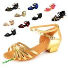 Hot Sale Womens Ballroom Latin Tango Dance Shoes For ChildrenTeenageAdult