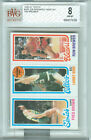 1980-81 Topps Fred Brown LARRY BIRD ROOKIE Ron Brewer BGS 8 NM-MT