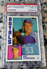 BRET SABERHAGEN 1984 Topps Traded Tiffany GLOSSY Rookie Card RC PSA 9 KC Royals