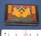 Kama Sutra Hand Painted Panels Wood Covers (Boards) Rare Vintage Manuscript