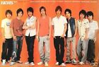 NEWS GROUP STANDING TOGETHER POSTER FROM ASIA Japanese Boy Band J Pop Music