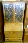 Ethan Allen Heirloom Collection solid Maple Drop Front Secretary Desk 9506