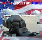 Harley Davidson Ultra Classic Drivers Backrest AMERICAN MADE Complete System