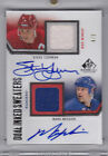 10 11 SP Game Used Dual Inked Sweaters Mark Messier Steve Yzerman 5 Auto