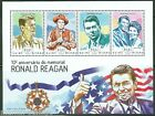 GUINEA BISSAU  2014 10th MEMORIAL ANNIVERSARY OF PRES RONALD REAGAN  SHT MINT NH