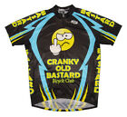 CRANKY OLD BASTARD Cycling Jersey XXL 2X 2XL bicycle Mens bike bicycle with Sox