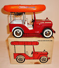 TONKA 1960s LIFE GUARD JEEP #2306 with REPLACED RUBBER RAFT and BOX ~ 9.75-inch