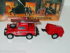Matchbox MOY FIRE ENGINE SERIES 1952 LAND ROVER FIRE TRUCK Red 1 43 MIB