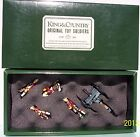 KING & COUNTRY BRITISH SEAFORTH HIGHLANDERS SHMG MAXIM GUN SET GLOSSY EXIB