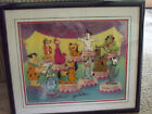 HANNA BARBERA CEL PAWS APPLAUSE DOG SHOW AUTOGRAPH SCOOBY DOO ASTRO ART PICTURE