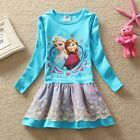 NWT Frozen Princess Elsa Anna Holiday Flower Girls Dress Clothing Size 5-6y