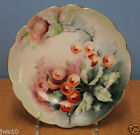 ROSENTHAL ANTIQUE BAVARIA HAND PAINTED CHINA PLATE 8