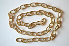 1 METRE OF GOOD QUALITY SOLID BRASS LIGHT HANGING CHAIN OVAL LINK CEILING SHADE
