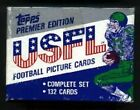1984 TOPPS USFL FOOTBALL SET - FACTORY SEALED (SKU#AAL) - FREE SHIP