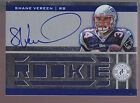 2011 Totally Certified Blue Jumbo Jersey Autograph Auto #230 Shane Vereen RC 499