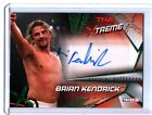 TNA Brian Kendrick 2010 Xtreme GREEN Authentic Autograph Card SN 15 of 25