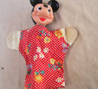 1950s Mickey Mouse Hand Puppet Disney Rubber Face Reliable W.D.P. Vintage