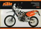 2002 KTM 640 LC4 Adventure Motorcycle Owners Handbook : 321022