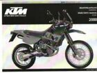 2000 KTM LC4 Adventure R 640 Chassis Spare Parts Manual : 320497