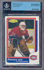 1986-87 o-pee-chee #53 PATRICK ROY blank back rookie BGS authentic