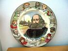 Royal Doulton Rack Plate   WILLIAM SHAKESPEARE PORTRAIT  Retired 1947