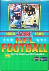 1989 SCORE FOOTBALL BOX FROM OUR CASE! BARRY SANDERS, TROY AIKMAN, DEION?