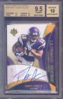 2009 ultimate collection #208 PERCY HARVIN rookie BGS 9.5 9.5 9.5 10 auto 10