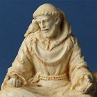 Saint Francis of Assisi Meditating with Doves Statue Figure #MSSFDO