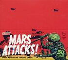 2012 Mars Attacks Heritage SEALED Hobby Box Topps Trading Cards Space Adventure