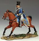 KING & COUNTRY CRIMEAN WAR CRW020 MOUNTED RUSSIAN HUSSAR ENGAGING MIB
