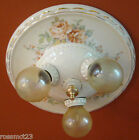 Vintage Lighting 1930s Porcelier ceiling light & pair sconces   Bath   Bedroom