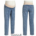 NEW Old Navy MATERNITY Demi-Panel Floral-Print Skinny Jeans size 16 or XL