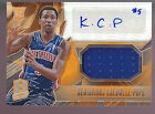 2013-14 Panini Spectra Orange Prizms Jersey Auto Kentavious Caldwell-Pope RC 60