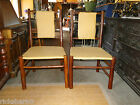 ADIRONDACK  STYLE  CHAIRS  WITH  WOVEN VINYL   SEATS AND BACKS