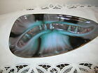 LARGE BLUE MOUNTAIN POTTERY LARGE ASH TRAY GREEN BLACK GREY  GLAZE PRE OWN