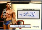 WWE Ted Dibiase 2010 Topps Platinum Authentic Autograph Card SN 205 of 271