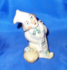 CHEF AND CAT VINTAGE RUSSIAN USSR PORCELAIN FIGURINE NO RESERVE