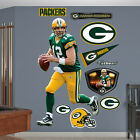 REAL.BIG. Fathead Wall Graphics, Green Bay Packers AARON RODGERS, NEW