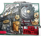 FDC  * 5 * COLLINS HANDPAINTED COVERS 1994 LOCOMOTIVES SC# 2843-47