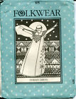Folkwear Syrian Dress Caftan Costume Ladie's pattern 105 Uncut