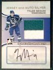 TYLER SEGUIN AUTHENTIC AUTOGRAPH AND PIECE OF A GAME-USED JERSEY 3 PRE-ROOKIE