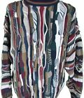 Enrico Uomo ITALY Men's FUN Bill Cosby Style SWEATER Large long sleeve designer