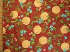 Flowers Floral Chrysanthemum Print cotton fabric BY THE YARD