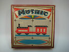 Vintage Wooden Mosaic Board Game Toy With Original Box, Made in Germany