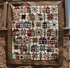 MISS ROSIE'S Come On-A My House Reproduction Floral Fabric Quilt Kit FREE SHIP