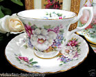 ROYAL ALBERT TEA CUP AND SAUCER SUMMERTIME SERIES SHERBORNE PATTERN TEACUP