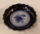 ANTIQUE FLOW BLUE CHINA SAUCE BOWL DISH GRINDLEY ENGLAND 5.25