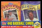 1996 Topps Complete BASEBALL 440 CARD Factory Sealed CEREAL Box SET Series 1